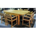 Vancouver Oak Dining Set